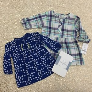 NWT CARTERS Girls Blouse 12 months
